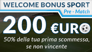 WELCOME BONUS SPORT